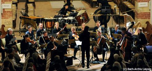 Musikensemble musikFabrik in der Thomaskirche